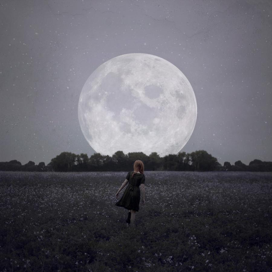 La Luna…